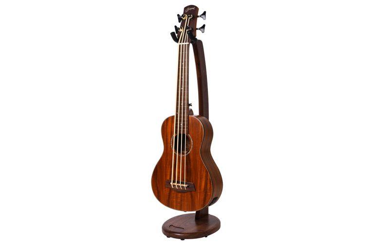 hardwood guitar stand