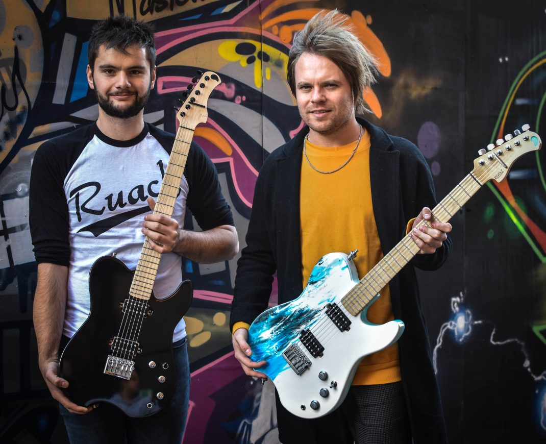 Rou Reynolds Enter Shikari Custom Ruach Revolt Electric Guitar