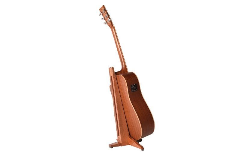 mahogany guitar stand