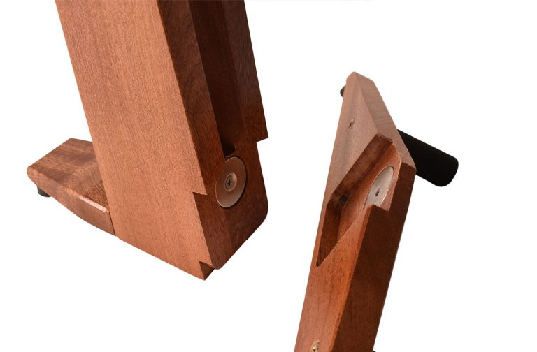 foldable wooden guitar stand