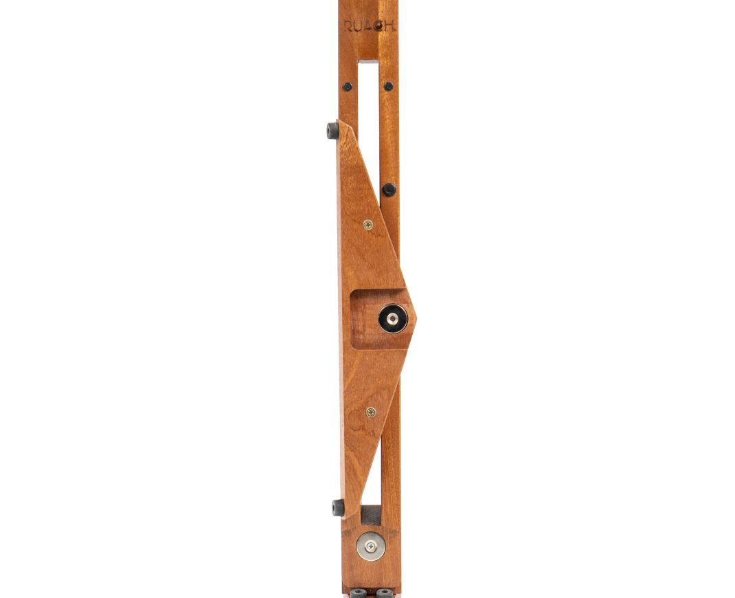 Ruach MS-1 Magnetic Stage Guitar Stand  - Mahogany