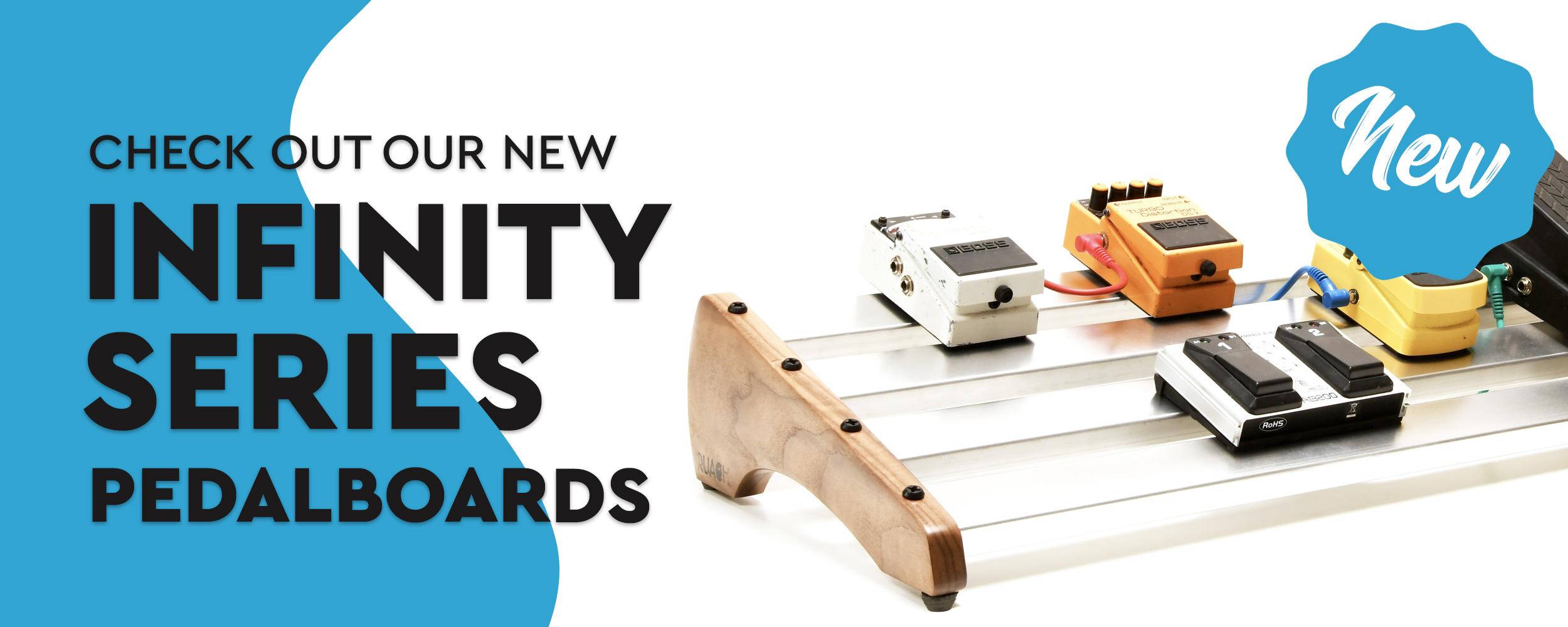 Check out our new infinity series pedalboard